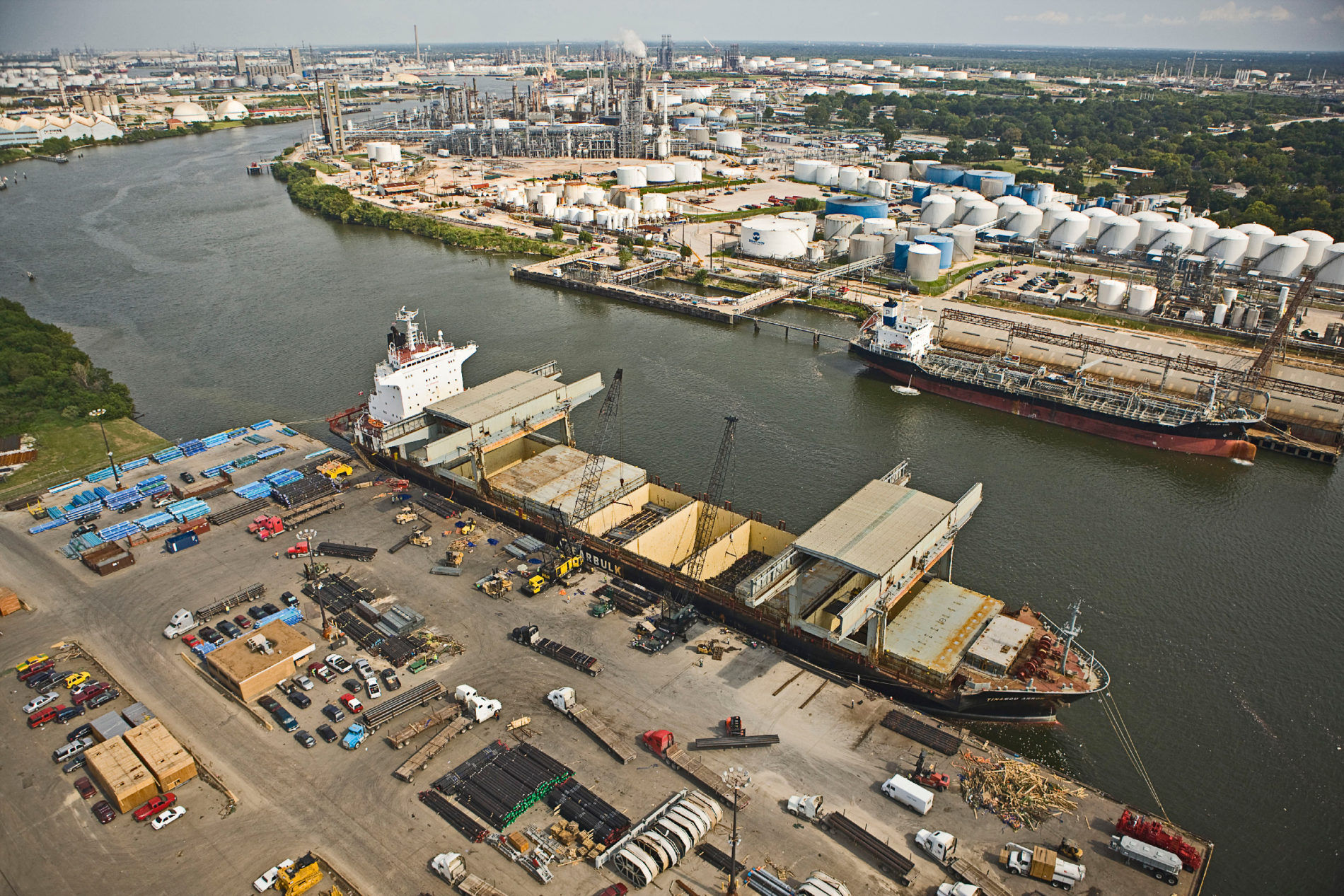 Houston shipping channel
