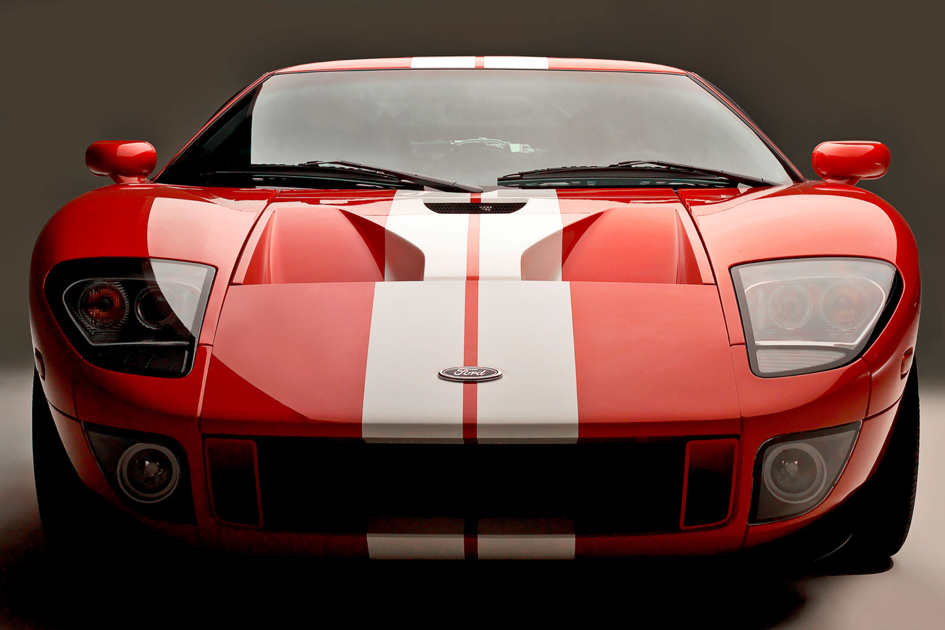 Ford GT photographed using our car light in Tulsa Oklahoma