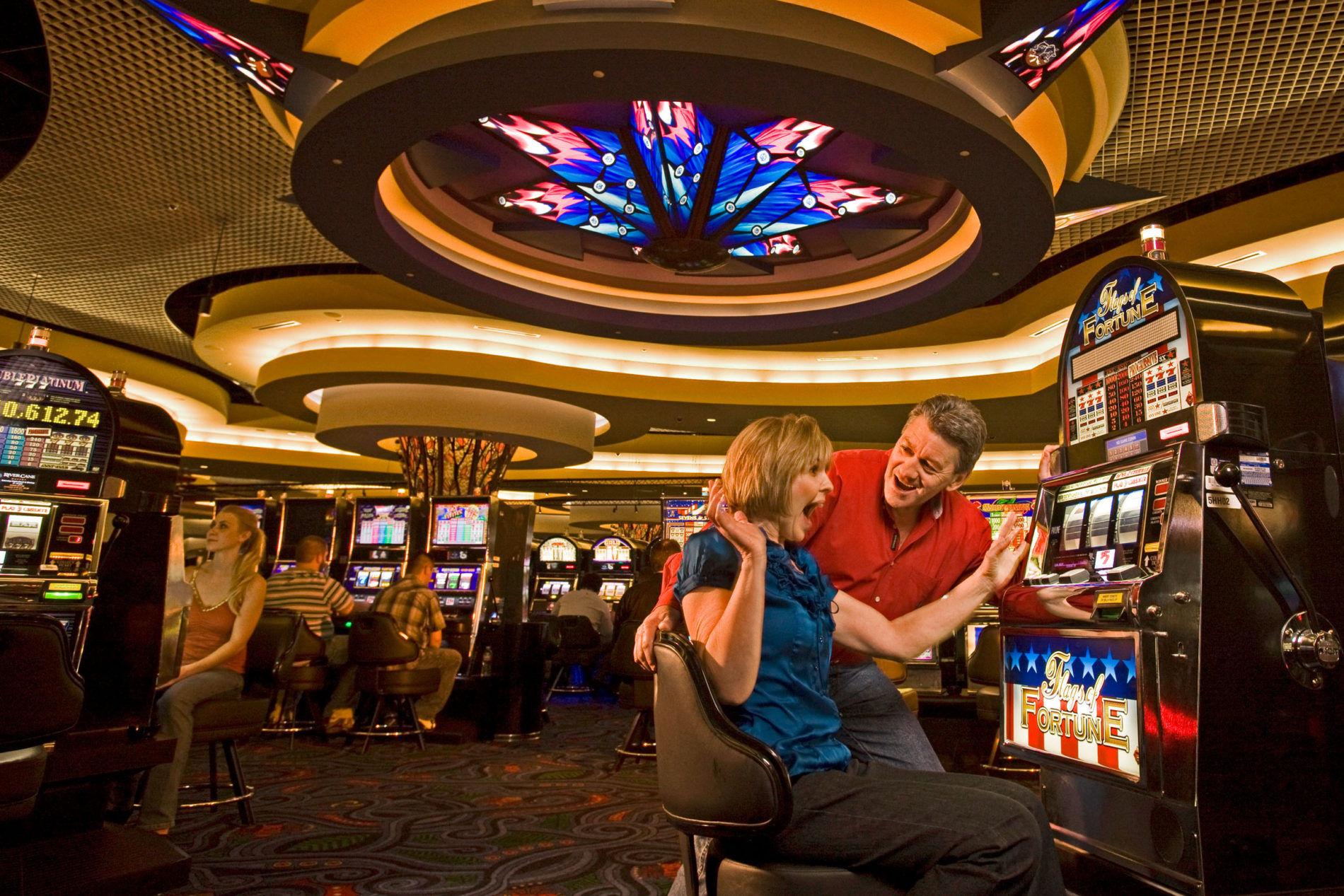 People gambling in Tulsa