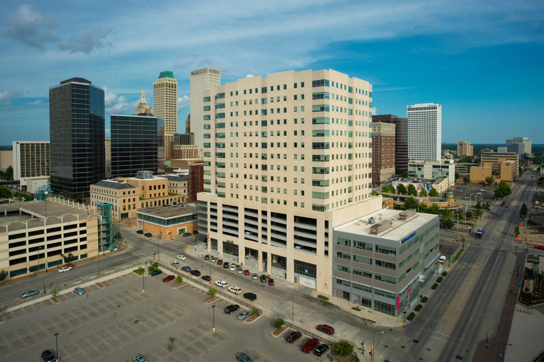 Downtown Tulsa image showing Cimarex building