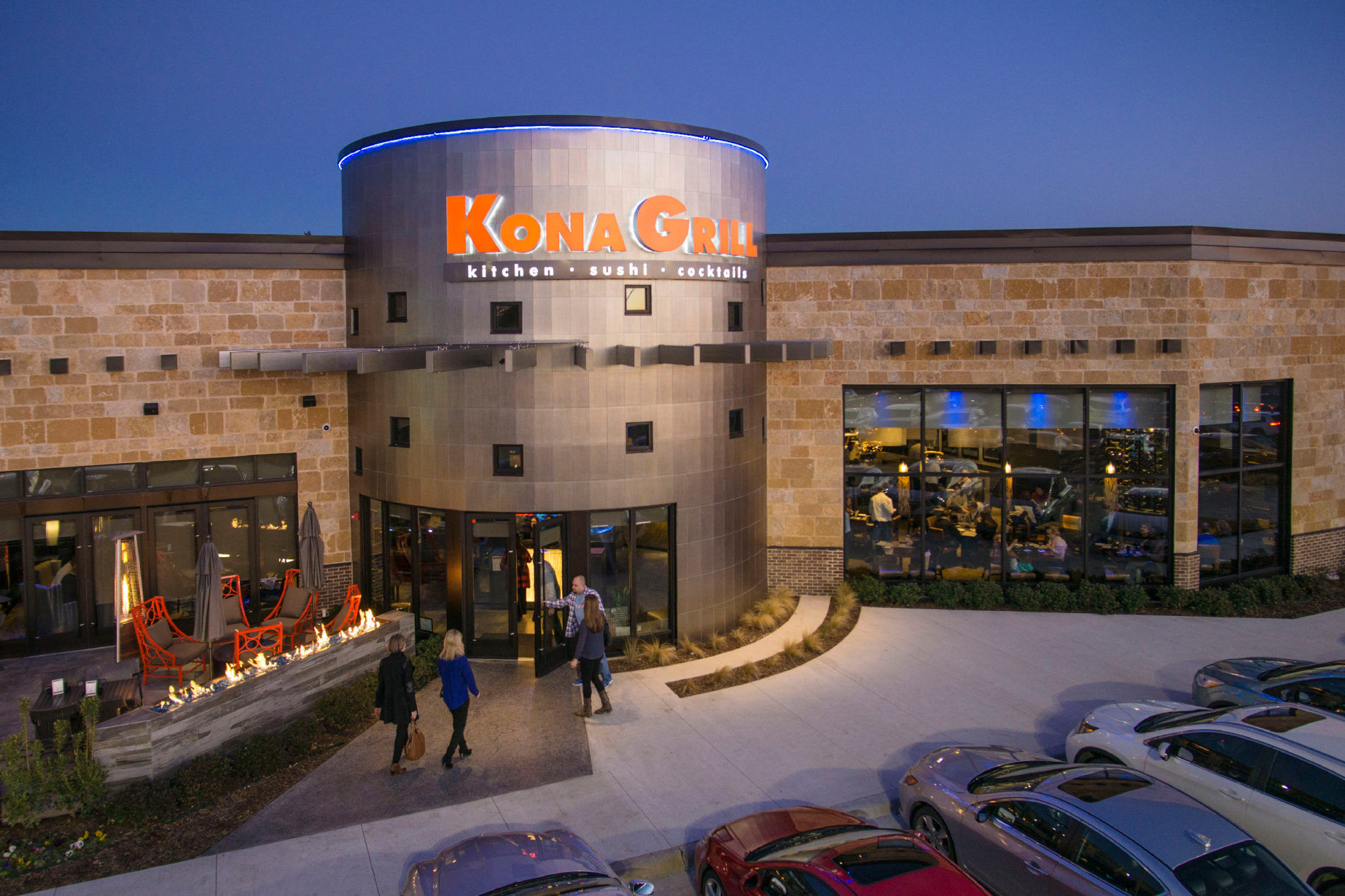 Tulsa Drone Photographer captures view of Kona Grill
